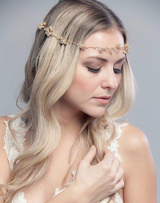 Laura Jayne Fiona Crystal Halo Wedding Headbands photo