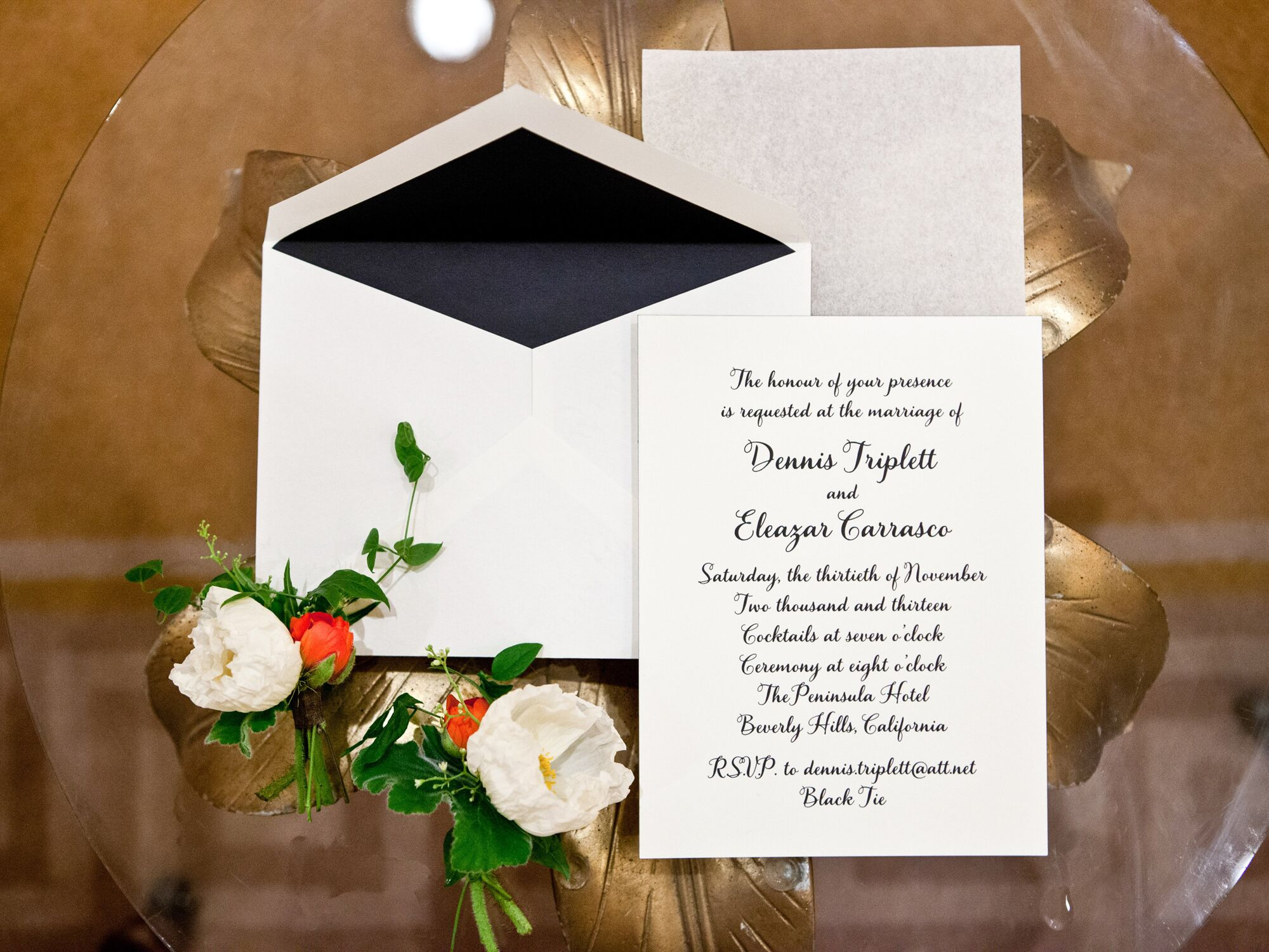 Inspiration How To Emble Wedding Invitations