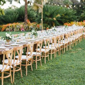 Outdoor Tropical Botanic Garden Reception