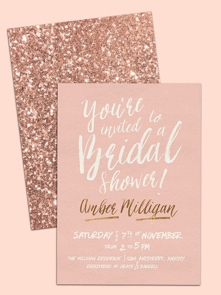 Printable Bridal Shower Invitations You Can DIY – Bridal Shower Invitations Template