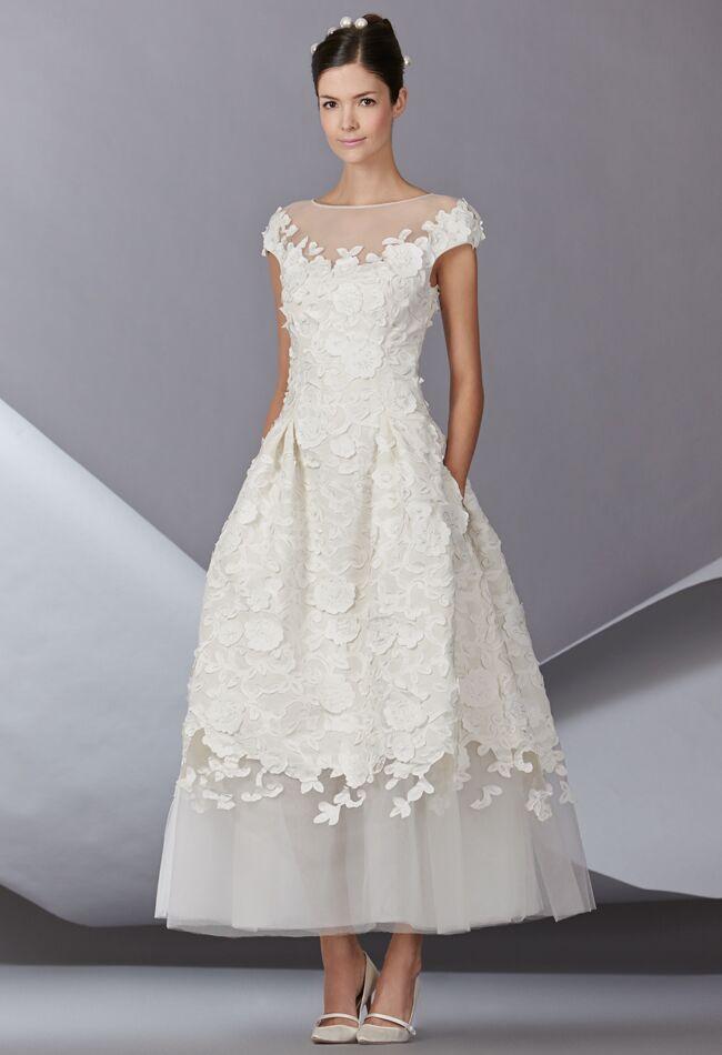 Carolina herrera fall 2014 wedding dresses junglespirit Gallery