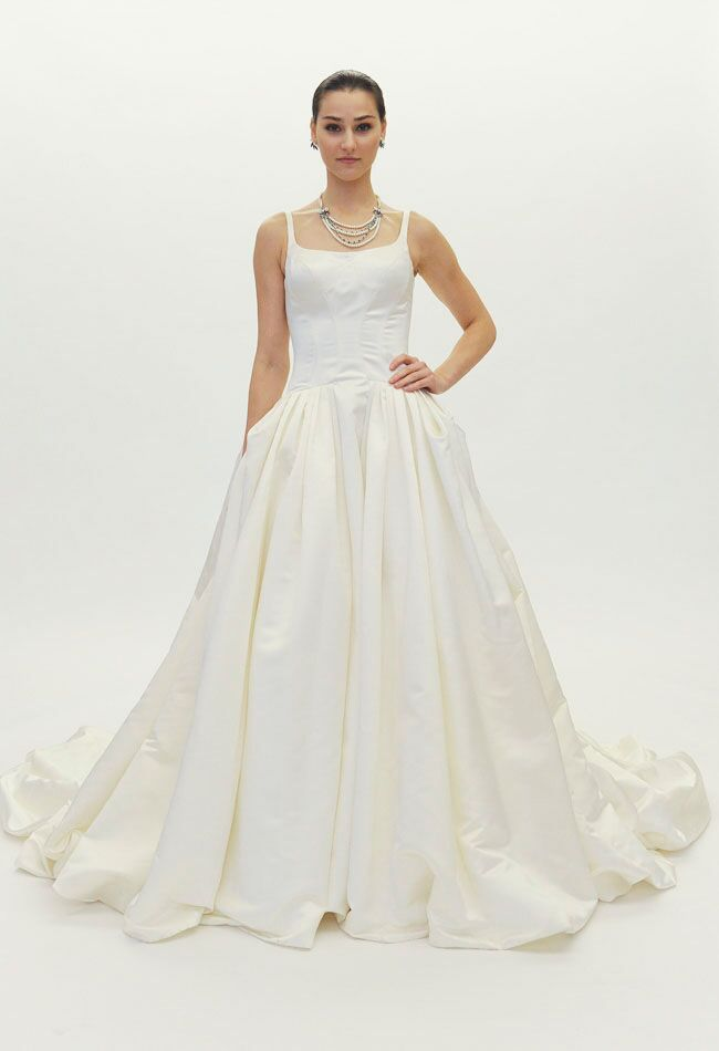 197beb6f2b Truly Zac Posen s Wedding Dress Collection Featured Timeless Styles ...