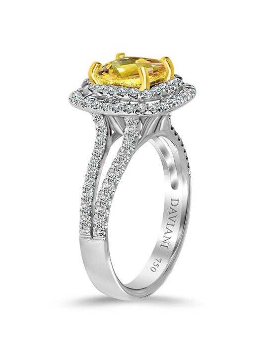 Daviani Love Links Collection DCR1032 Engagement Ring photo