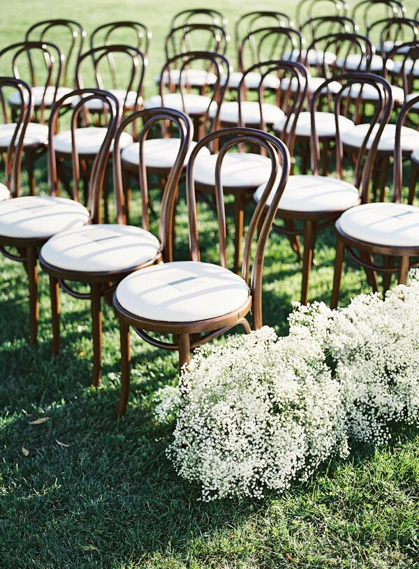 Wooden Cafe Ceremony Chairs