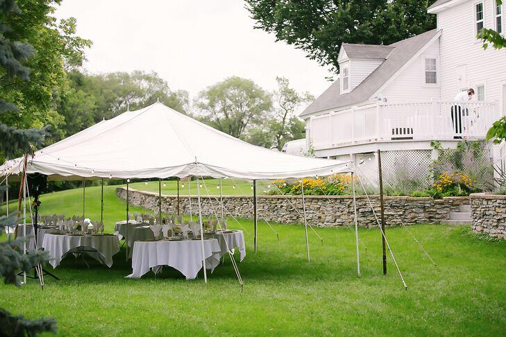 & Outdoor Tent Reception at Riedel Farm Estate