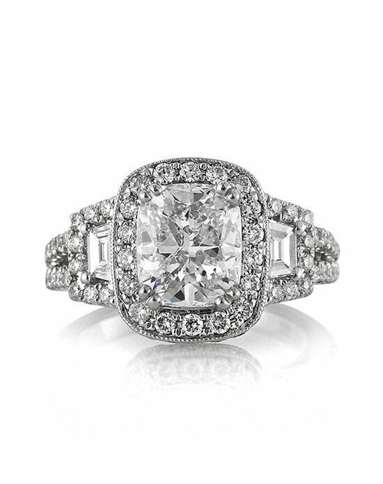 Mark Broumand 3.31ct Cushion Cut Diamond Engagement Anniversary Ring Engagement Ring photo