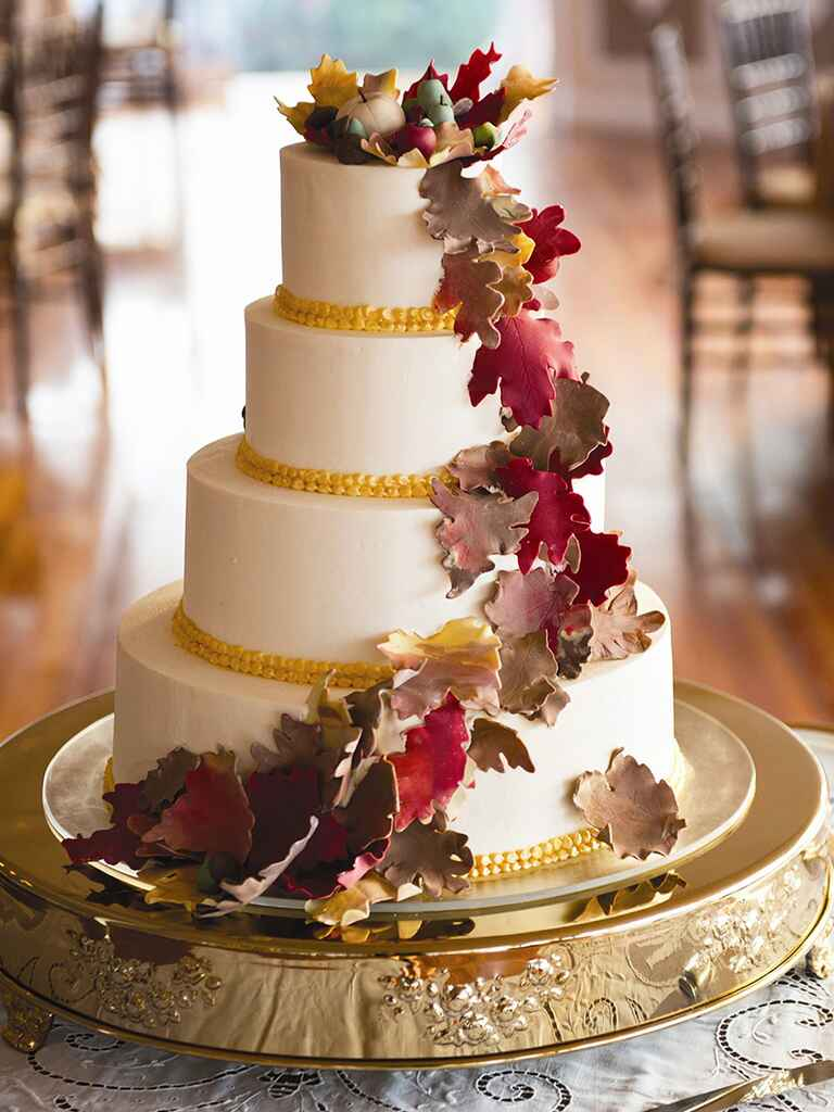 fall wedding cake designs 17 gorgeous fall wedding cakes 14159