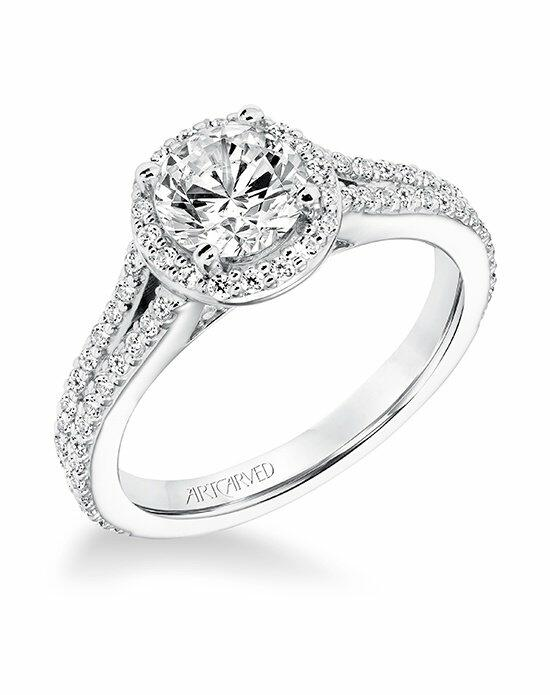 ArtCarved 31-V647ERW-E Engagement Ring photo