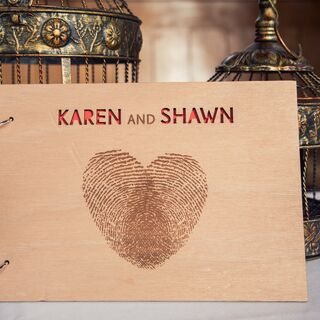 Rustic Wedding Guest Books