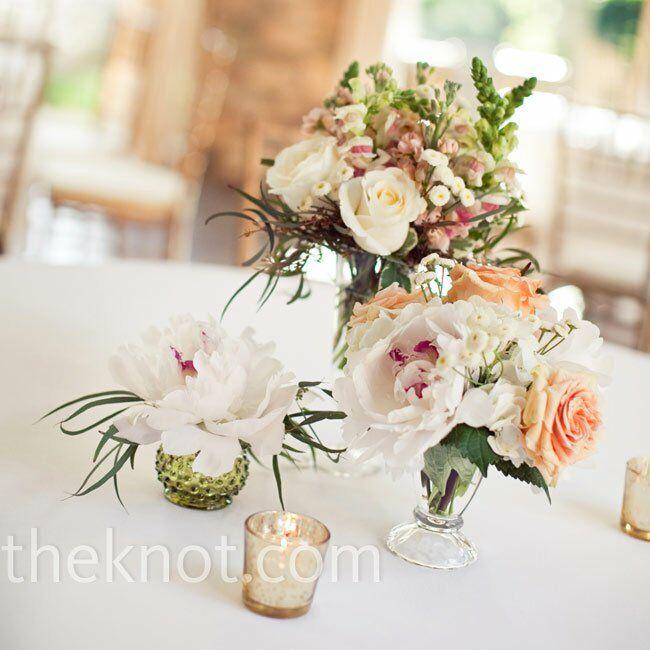 Vintage Flower Arrangements For Wedding: Vintage Floral Centerpieces