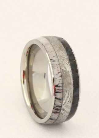 dinosaur bone wedding band - Dinosaur Bone Wedding Ring