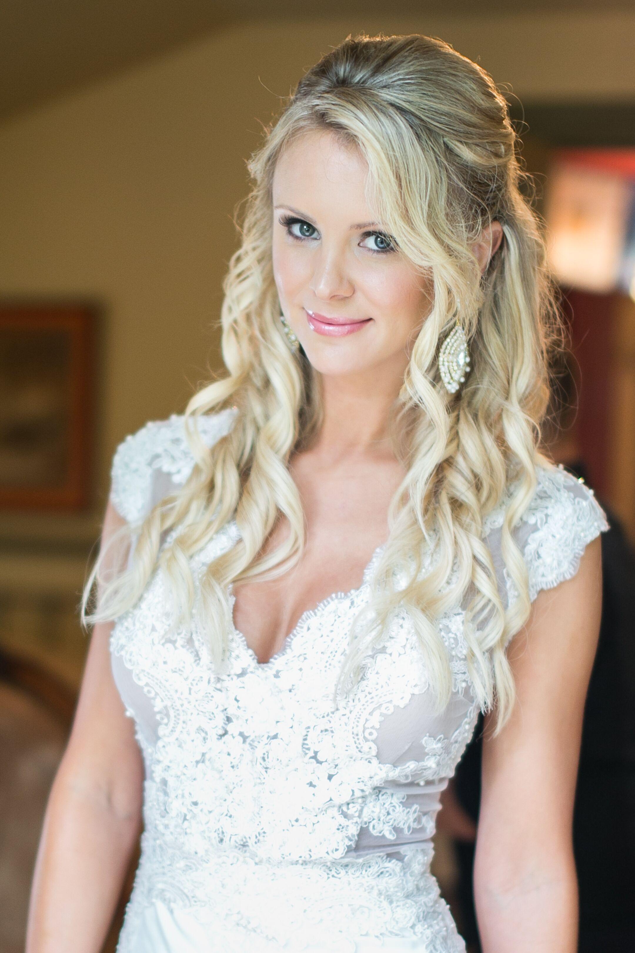 Custom Randall Smith Lace Wedding Gown