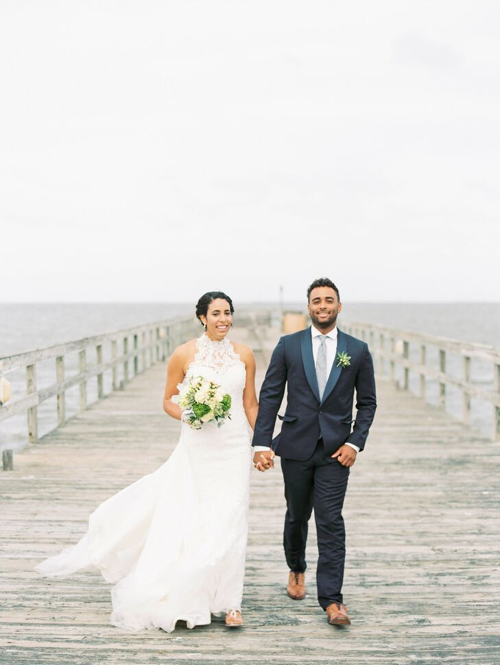 A Rustic Beach Wedding At Lewes Canalfront In Delaware