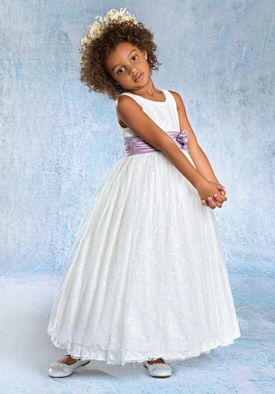 Alfred Angelo Flower Girls 6680 Flower Girl Dress photo