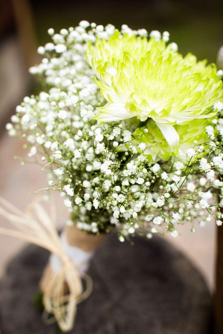 Aster and babys breath bouquets izmirmasajfo