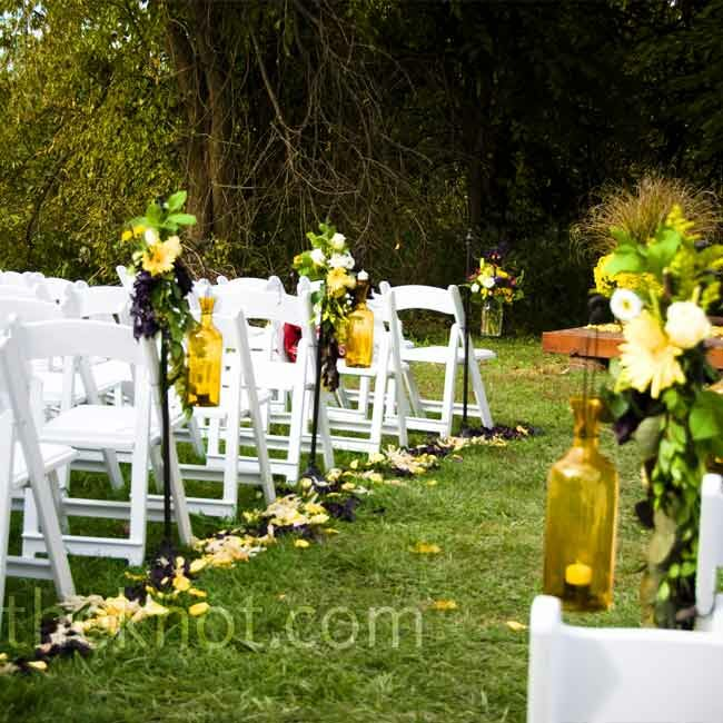 Outdoor Fall Wedding Ideas: Outdoor Fall Wedding