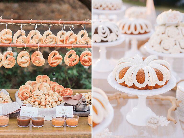 15 creative food bars ideas creative wedding food bar ideas junglespirit Image collections