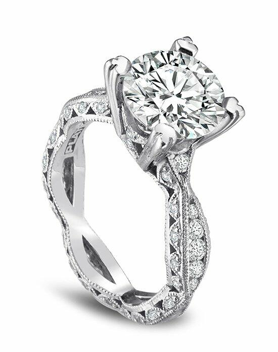 Platinum Engagement and Wedding Ring Must-Haves Tacori Platinum & Diamond Engagement Ring Engagement Ring photo