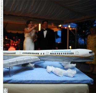 aircraft wedding cake airplane groom s cake 10633