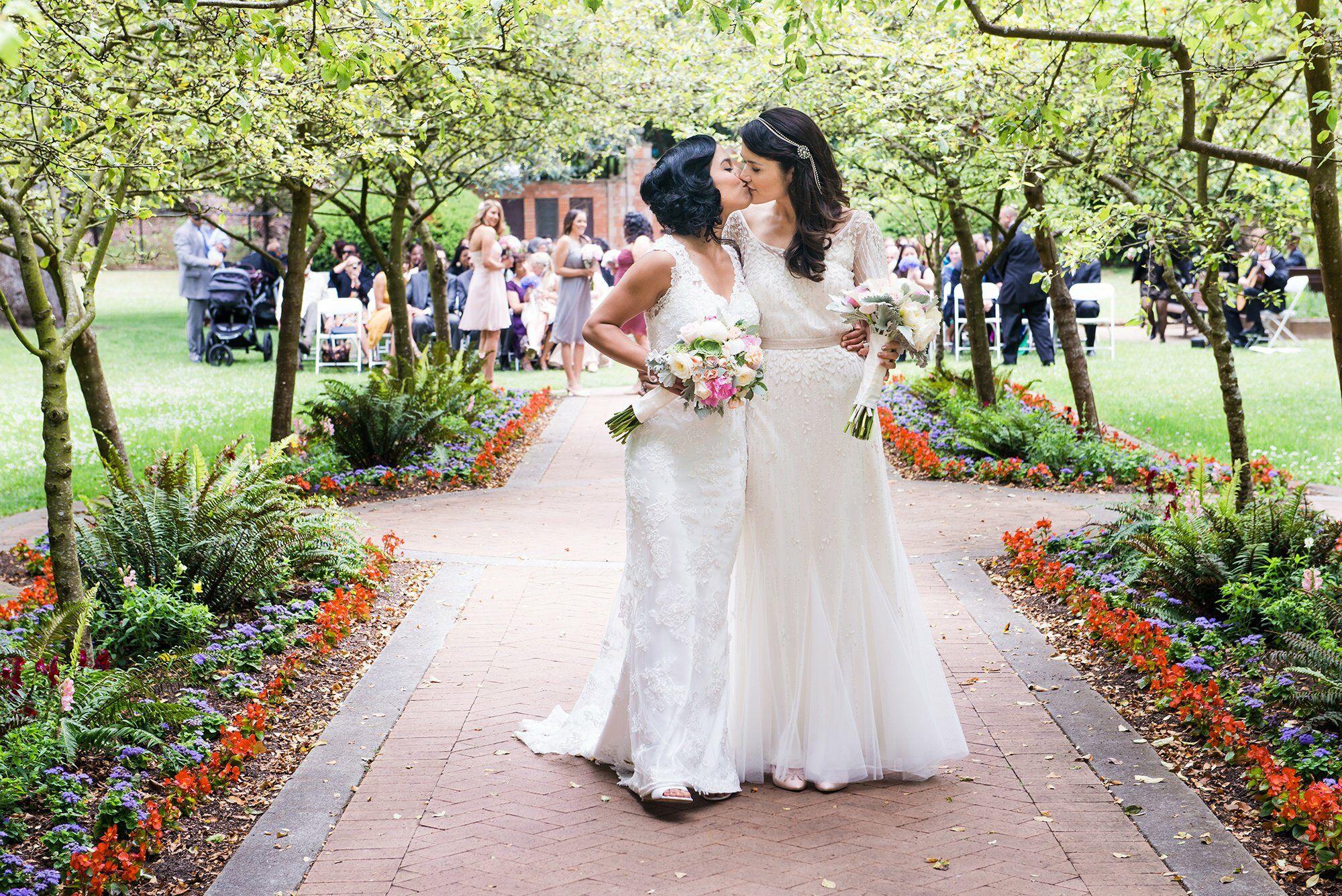 Real Weddings San Francisco: A Vintage-Inspired Same-Sex Wedding In San Francisco
