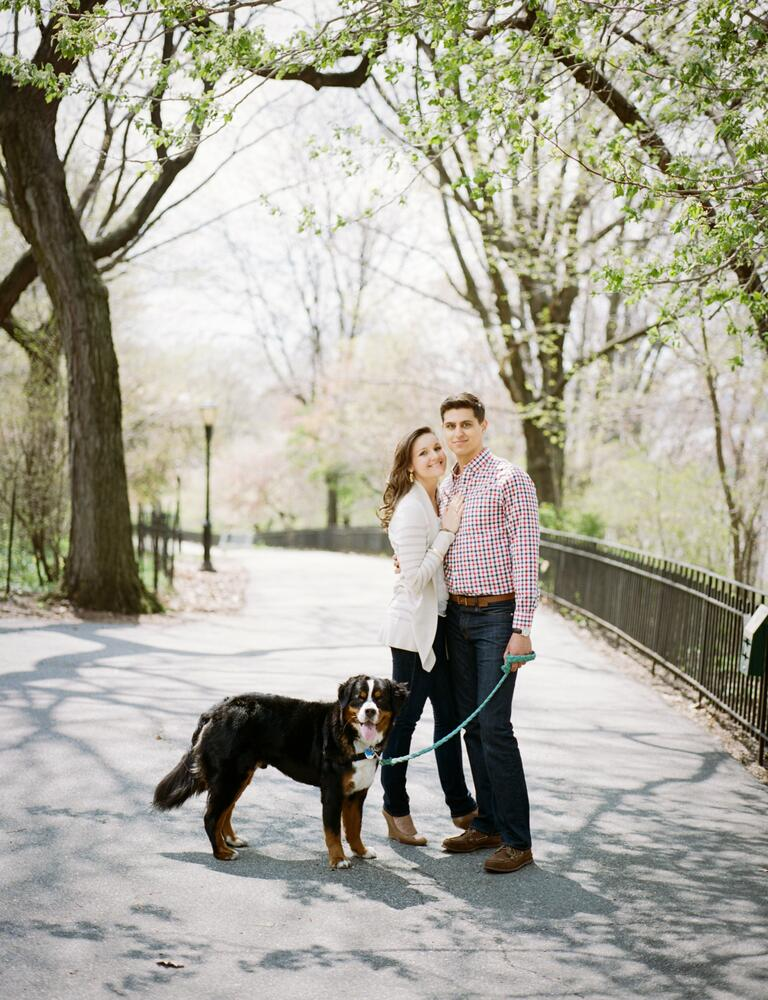 Amanda and Jeremy engagement photo New York City, NY