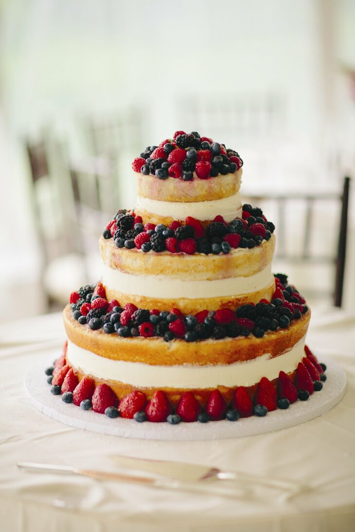 simple fruit wedding cake recipe three tier fruit cake 19988