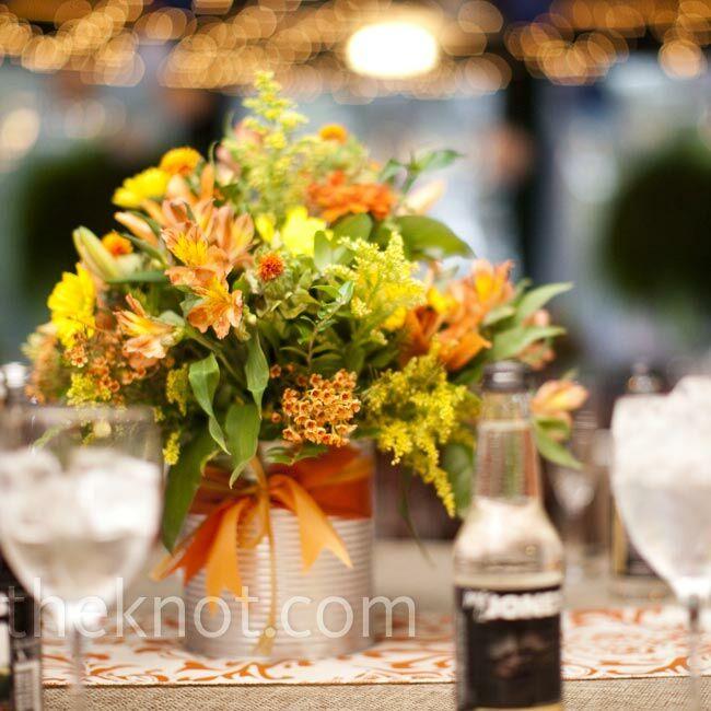 Wildflower Wedding Centerpieces