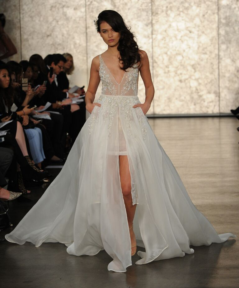 Inbal Dror Fall Winter Collection Bridal Fashion Week Photos