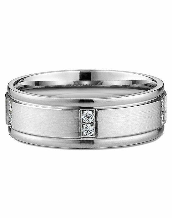 Ritani Men's Diamond & Satin-Finish Wedding Ring in Palladium Wedding Ring photo