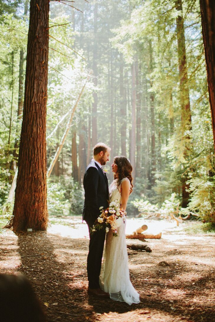 A Natural, Rustic Outdoor Wedding At Henry Miller Memorial