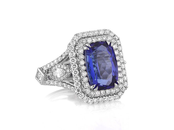 ring and sapphire rings barkevs diamond blue engagement