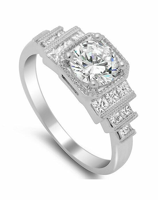 Timeless Designs R1314-D Engagement Ring photo