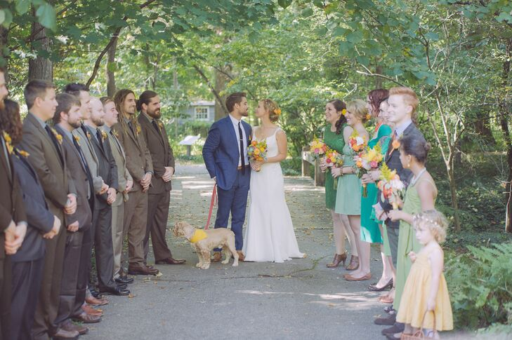 A Rustic, Outdoor Wedding at the Fernwood Botanical Gardens in ...