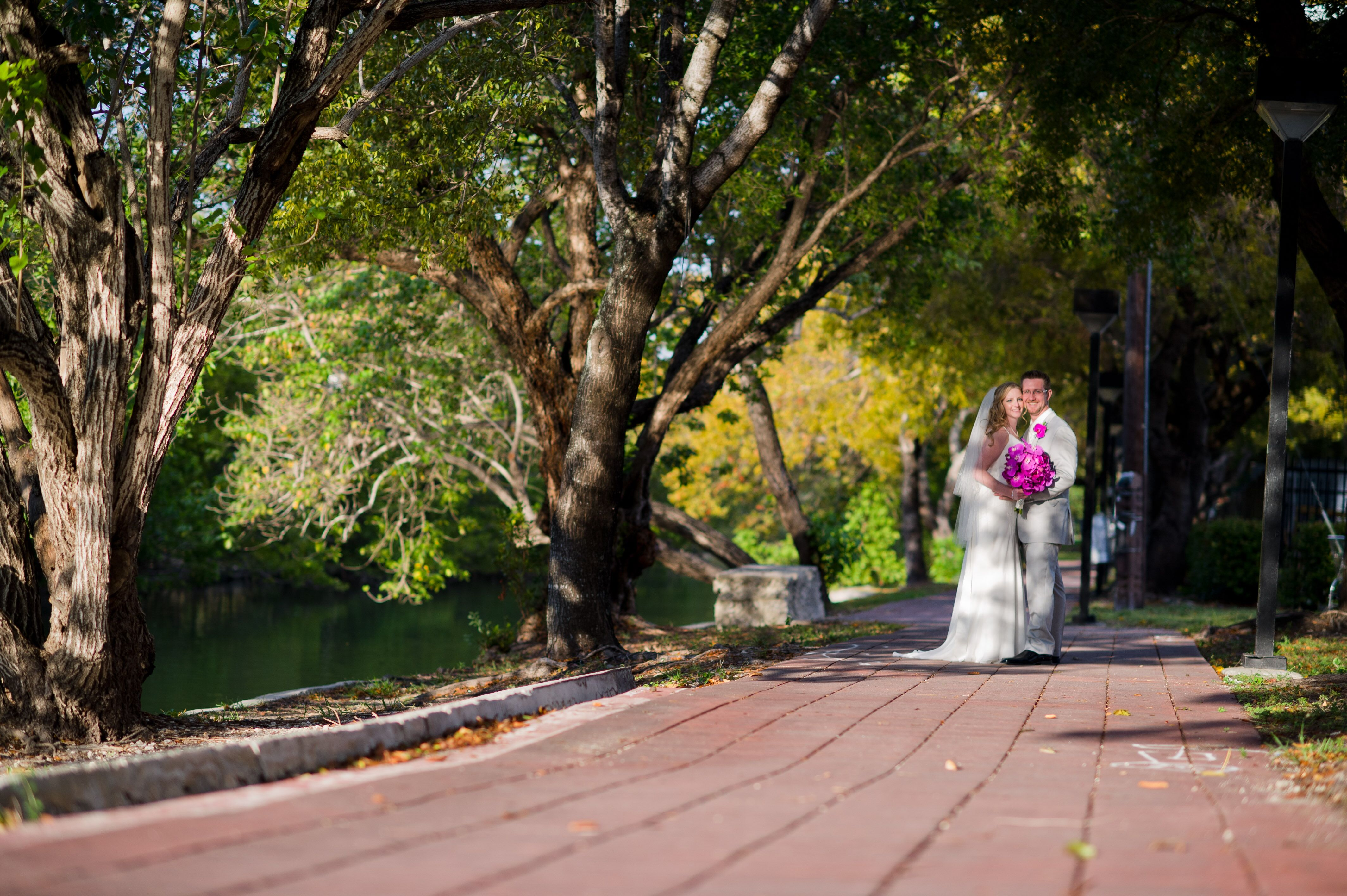 A Traditional Garden Wedding At The Miami Beach Botanical Gardens In Miami Beach Florida