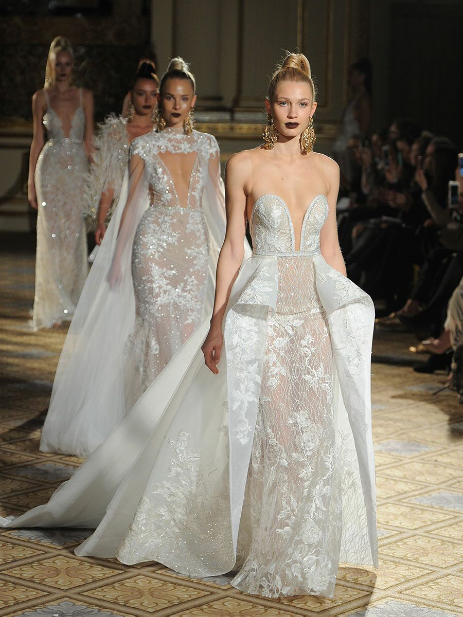 berta springsummer 2018 collection bridal fashion week