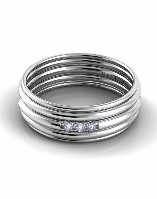 Danhov Classico Round Band White Gold Wedding Ring photo