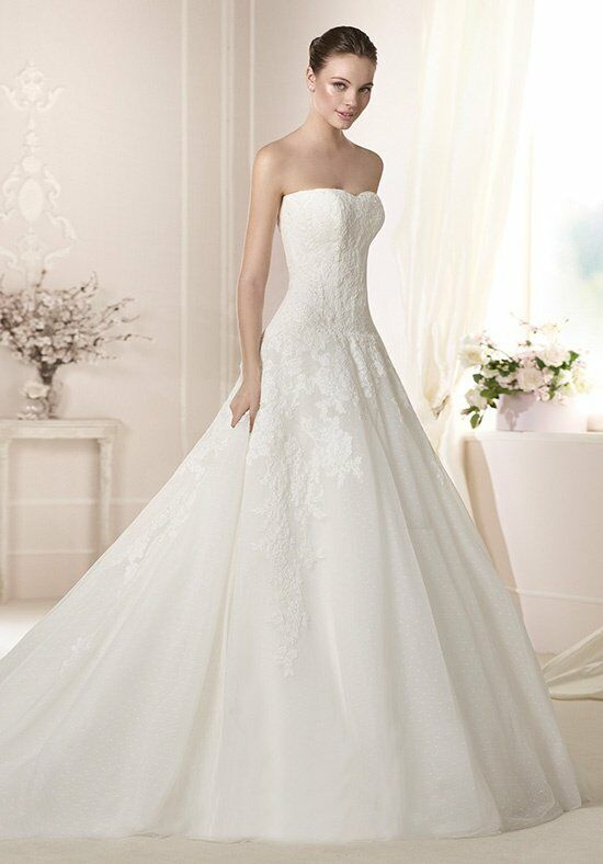 WHITE ONE Darlene Wedding Dress photo