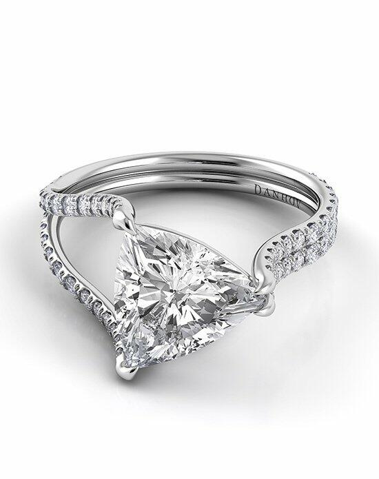 Danhov Solo Filo Split Shank Engagement Ring photo