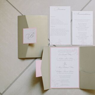 Real Vineyard Wedding Invitations