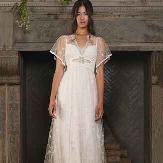 Claire Pettibone Fall 2017 bridal fashion week collection