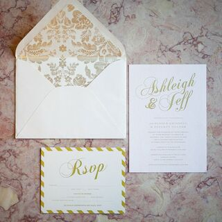 Gold Wedding Invitations Gold Wedding Invitations ...