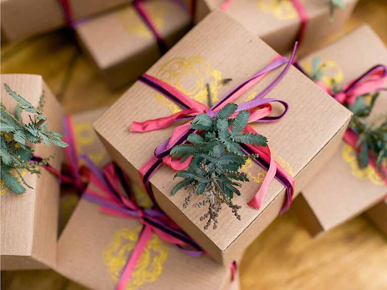 Wedding favors ideas guests will love