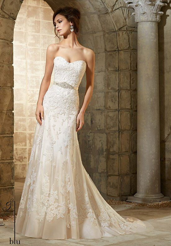 Blu by Madeline Gardner 5361 Wedding Dress photo
