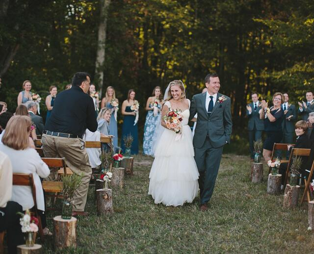 An At Home Wedding In Ludington Michigan