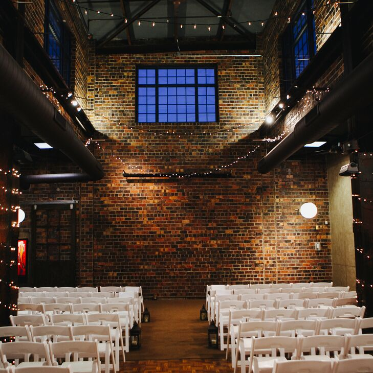 A Simple Wedding With An Industrial Twist At Dock580 In