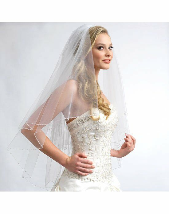 USABride 2 Layer, Sophie Swarovski Crystal Veil VB-5013 Wedding Accessory photo