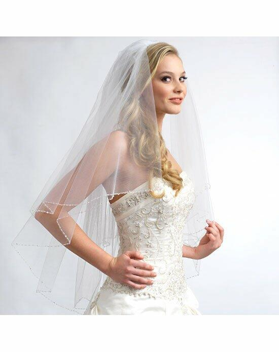 USABride 2 Layer, Sophie Swarovski Crystal Veil VB-5013 Wedding Veils photo