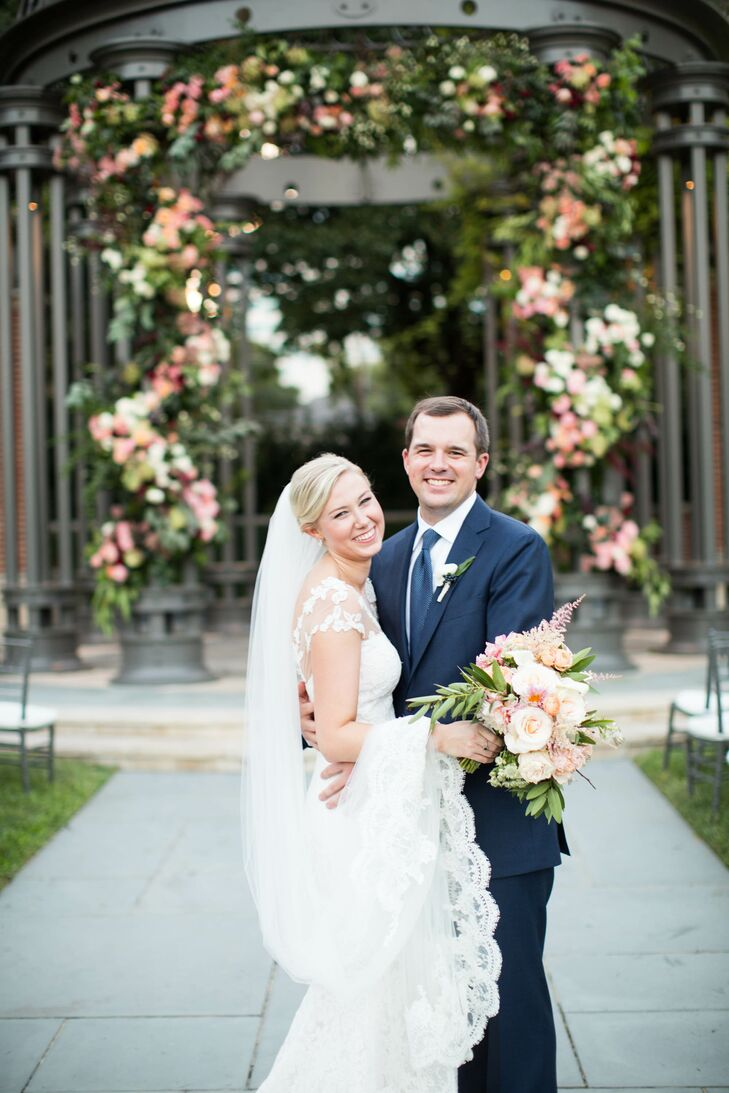 A Romantic, Glam Fall Wedding at Arlington Hall in Dallas, Texas