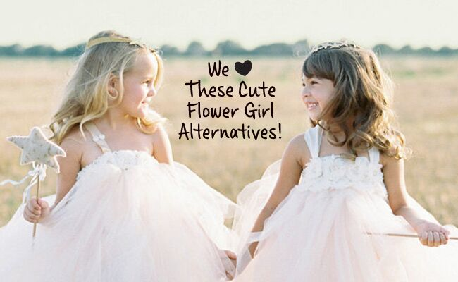 Flower Girls Don't Have to Toss Petals (See 6 New Ideas!)