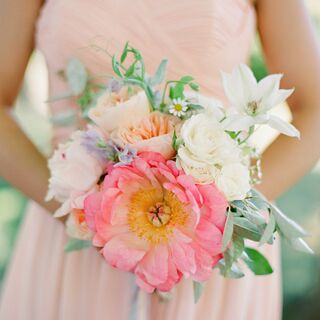 Real Pink Wedding Bouquets